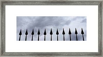 Get The Point Framed Print by Ernie Echols