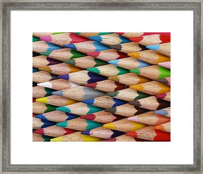 Framed Print featuring the digital art Get The Point by Ron Harpham