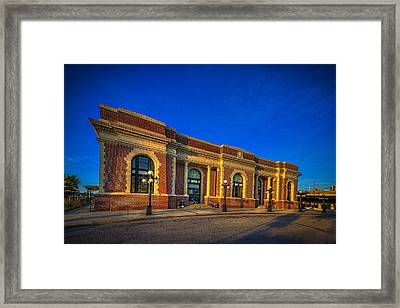 Get Your Ticket Framed Print