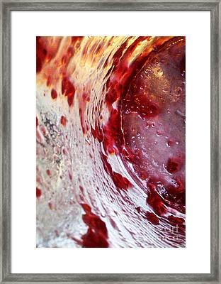 Getaway Jar Framed Print by Martin Howard