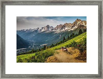Getting Down Framed Print