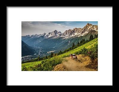 Chamonix Framed Prints