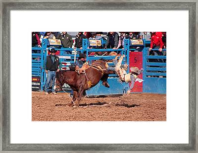 Getting Off Is Easy Framed Print by Joe Kozlowski