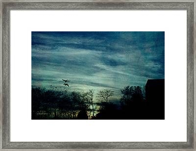 Getting Ready For The Night Framed Print by EricaMaxine  Price
