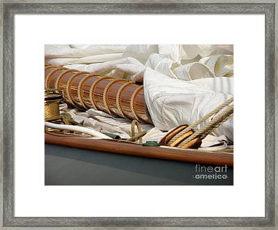 Getting Ready Framed Print by Lainie Wrightson