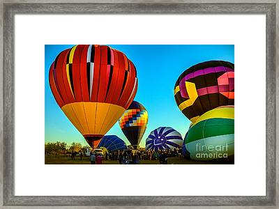 Getting Ready To Lift Off Framed Print by Robert Bales