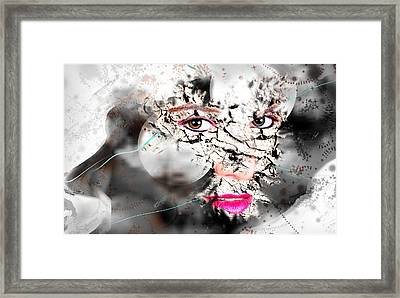 Getting Through Creative Art Framed Print by Ronel Broderick