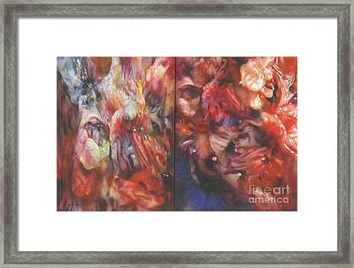 Getting Visceral #1 Framed Print