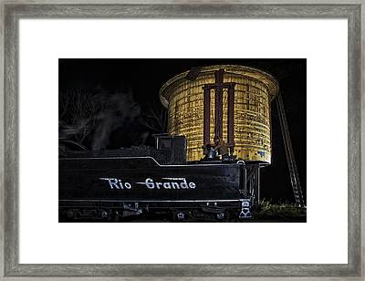 Getting Water Framed Print by Priscilla Burgers