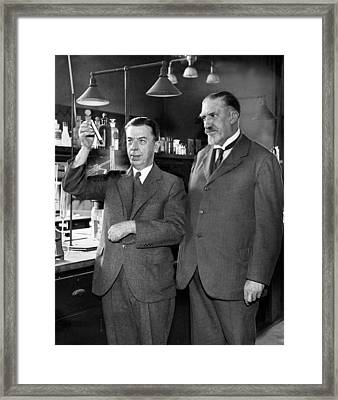 Gettler And Norris, American Framed Print by Science Source
