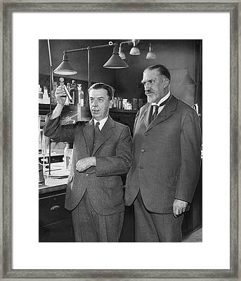 Gettler And Norris Framed Print by Library Of Congress