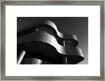Framed Print featuring the photograph Getty Center by Yue Wang