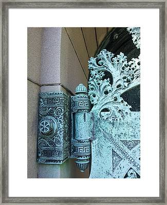 Getty Tomb Detail Framed Print
