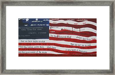 Gettysburg II Framed Print by Lawrence  Dugan