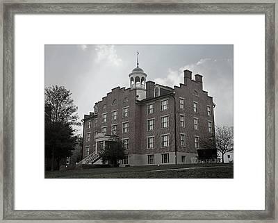 Gettysburg Schmucker Hall - No.2 Framed Print by Stephen Stookey