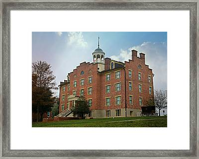Gettysburg Schmucker Hall Framed Print by Stephen Stookey