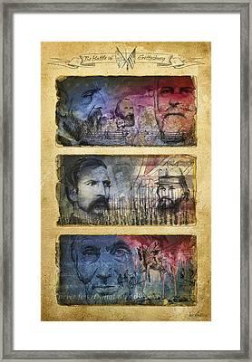 Gettysburg Tribute Framed Print by Joe Winkler