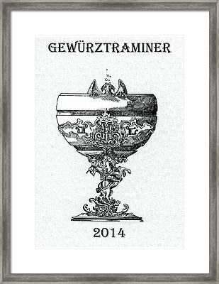 Gewurztraminer Framed Print