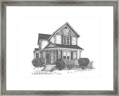 Gh Home Framed Print by Barbara Carlson