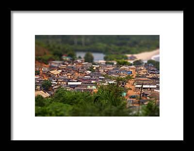 Ghana Framed Prints