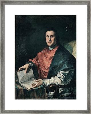 Ghedini Giuseppe Antonio, Portrait Framed Print by Everett