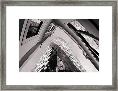 Gherkin Framed Print