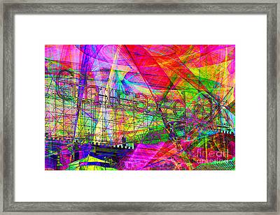 Ghirardelli 7d13979 Framed Print by Wingsdomain Art and Photography