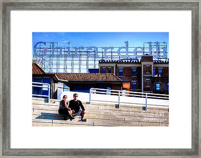Framed Print featuring the photograph Ghirardelli Square by Andreas Thust
