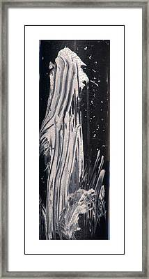 Ghost Abstract Framed Print by Geraldine Alexander