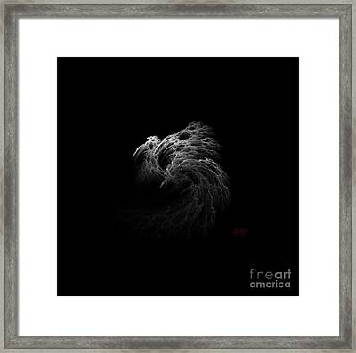 Ghost Framed Print by Amanda Collins