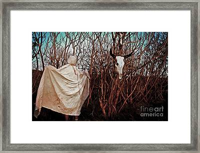 Ghost Attack Framed Print by Gregory Dyer