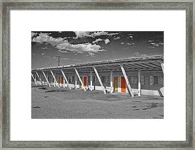 Ghost Building Framed Print by Matthew Bamberg