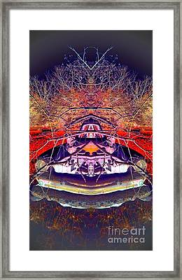 Ghost Car Framed Print