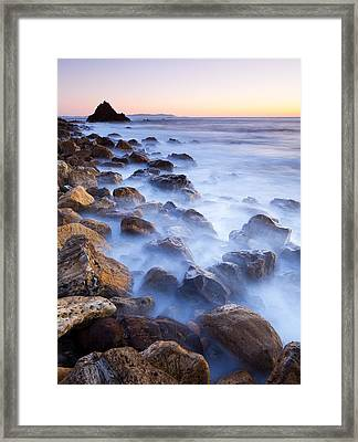 Ghost Coast  Framed Print