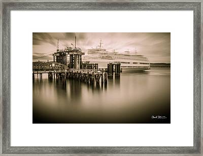 Ghost Ferry Framed Print by Charlie Duncan