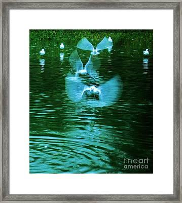 Ghost Flight Framed Print