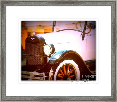 Ghost From The Past Framed Print by Bobbee Rickard