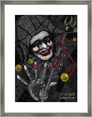 Ghost Harlequin Framed Print