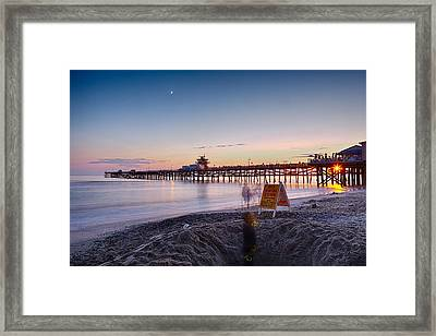Ghost In The Hole Framed Print by Scott Campbell
