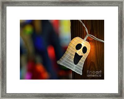 Framed Print featuring the photograph Ghost Light by Lisa L Silva