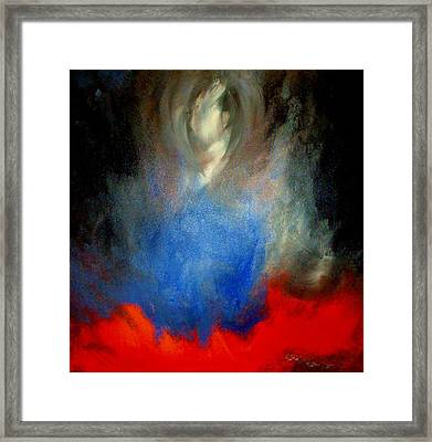 Framed Print featuring the painting Ghost by Lisa Kaiser
