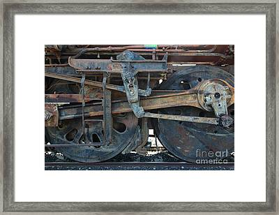 Ghost Locomotives Of The Sacramento Southern Railroad 5d25489 Framed Print by Wingsdomain Art and Photography