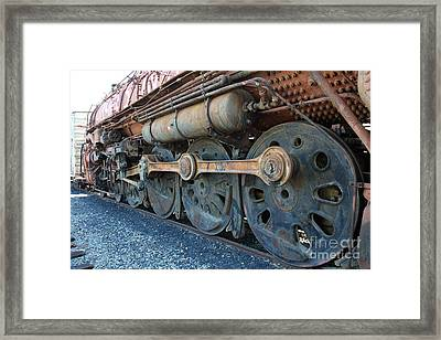 Ghost Locomotives Of The Sacramento Southern Railroad 5d25490 Framed Print by Wingsdomain Art and Photography