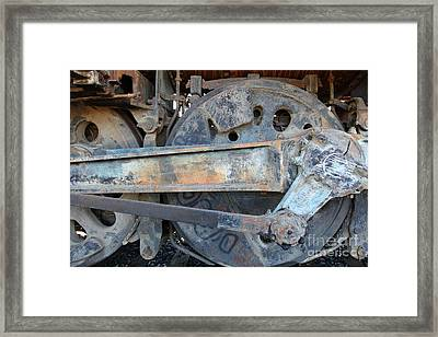 Ghost Locomotives Of The Sacramento Southern Railroad 5d25494 Framed Print by Wingsdomain Art and Photography