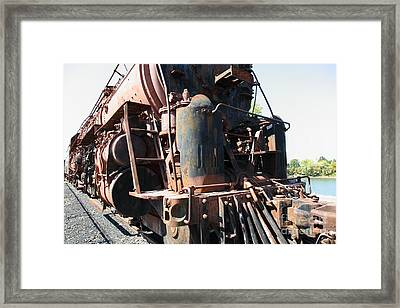 Ghost Locomotives Of The Sacramento Southern Railroad 5d25505 Framed Print by Wingsdomain Art and Photography