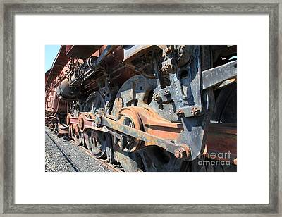 Ghost Locomotives Of The Sacramento Southern Railroad 5d25506 Framed Print by Wingsdomain Art and Photography
