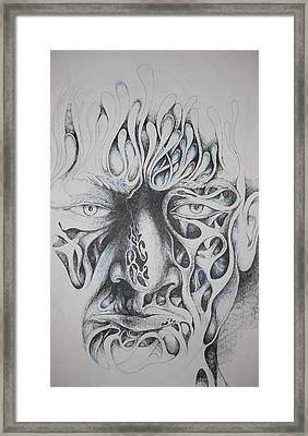 Ghost Framed Print by Moshfegh Rakhsha