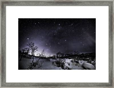 Ghost Night Framed Print