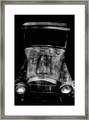 Framed Print featuring the photograph Ghost Of 1929 by Aaron Berg