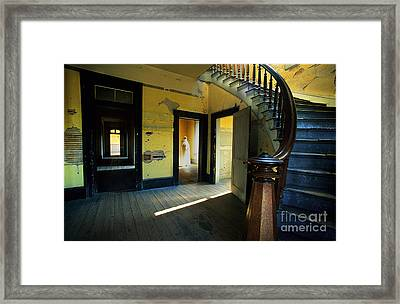 Meade Hotel Bannack Montana Framed Print by Bob Christopher